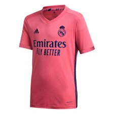 adidas Real Madrid 20/21 Youth Away Jersey - Pink