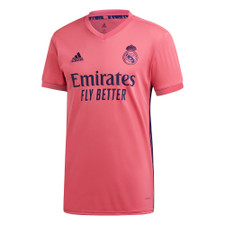 adidas Real Madrid 20/21 Away Jersey - Pink