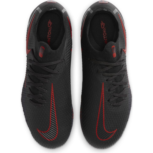 Nike Jr Phantom GT Pro Firm Ground Boots - Black/Red/Grey