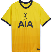 Tottenham Hotspur 2020/21 Stadium Third Jersey - Yellow/Blue
