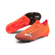 Puma ULTRA 1.1 FG/AG - Orange/White