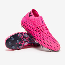 Puma FUTURE 6.1 Netfit Firm Ground Boots - Pink/Black