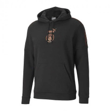 Puma MCFC Football Culture Hoodie - Black/Copper