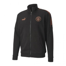 Puma MCFC Football Culture Track Jacket - Black/Copper