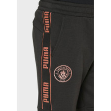 Puma MCFC Football Culture Track Pants - Black/Copper