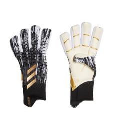 adidas Predator 20 Pro Fingersave Gloves - Black/White/Gold