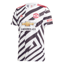 adidas Manchester United 20/21 Third Jersey - White/Black