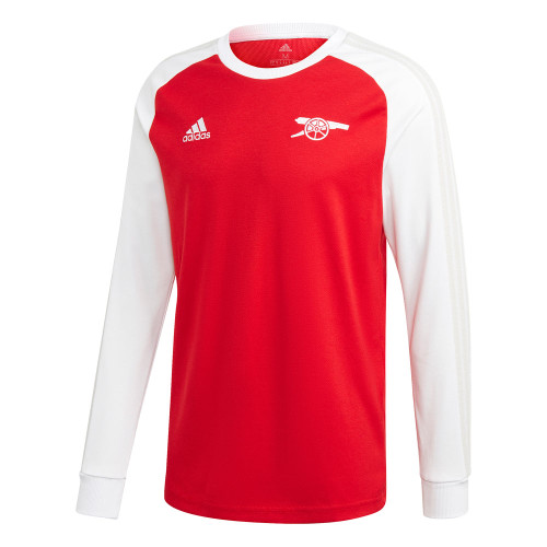 adidas Arsenal Icon Tee - Scarlet/White