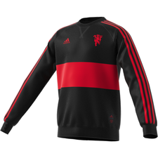 Manchester United Crew Sweatshirt - Black/Red