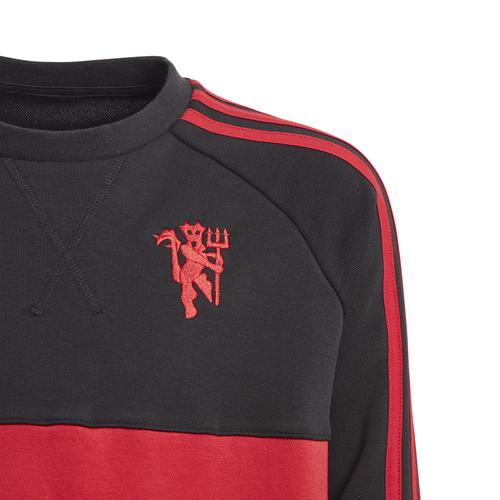 Manchester United Crew Sweatshirt - Black/Red