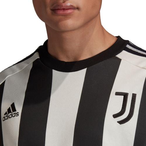 adidas Juventus Icons LS Tee - White/Black