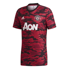 adidas Manchester United Pre-Match Jersey - Red/Black