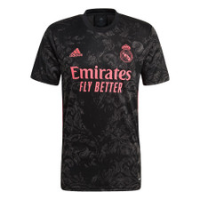 adidas Real Madrid 20/21 Third Jersey - Black