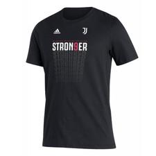 Juventus Amplifier Short Sleeve Tee - Black/Grey