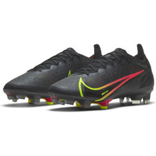 Nike Mercurial Vapor 14 Elite Firm Ground Boots - Black/Cyber-Off Noir