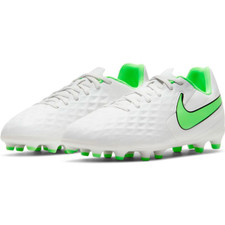 Nike Jr Tiempo Legend 8 Club MG - Platinum/Rage Green
