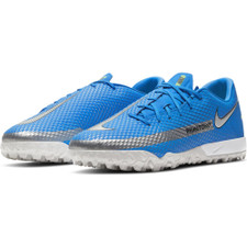 Nike Phantom GT Academy Artificial-Turf Boot - Photo Blue/Silver/Rage Green