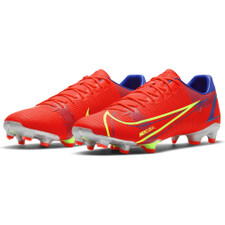 Nike Vapor 14 Academy Firm Ground Boots - Bright Crimson/Silver