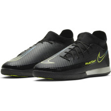 Nike Phantom GT Academy Dynamic Fit Indoor/Court Soccer Shoes - Black/Photo Blue