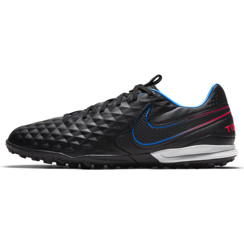Nike Tiempo Legend 8 Pro Artificial-Turf Soccer Shoes - Black/Red/Blue