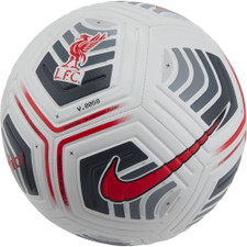 Nike Liverpool FC Ball - White/Grey/Crimson