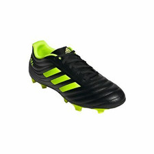 adidas Copa 19.4 Firm Ground Boots - BLK/SIL/YEL