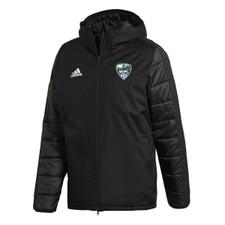 North Delta SC adidas J18 Winter Jacket - Black