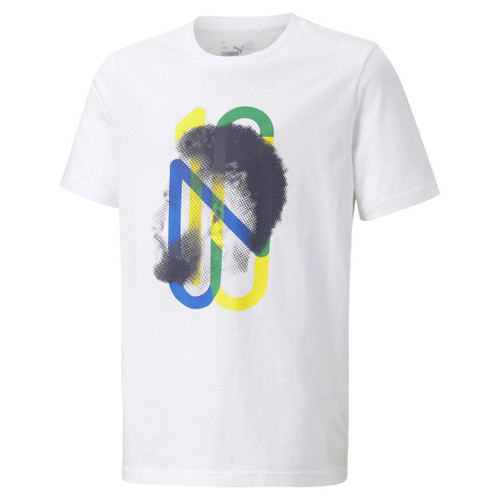 Puma Neymar Jr Hero Tee Youth - White