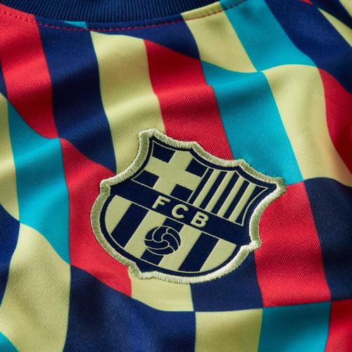 Nike FC Barcelona Shirt - Blue Void/Limelight