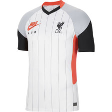 Nike Liverpool FC 2021/2022 Stadium - White/Crimson/Grey