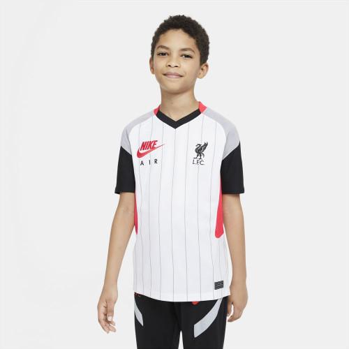 Nike Jr Liverpool FC 2021/2022 Stadium - White/Crimson/Grey