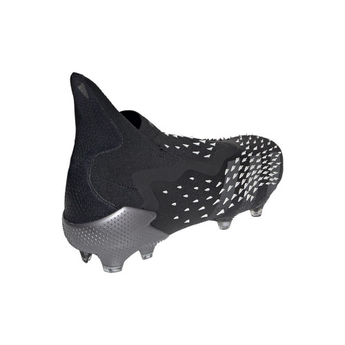 Predator Freak+ Firm Ground Boots - Black/Grey/White