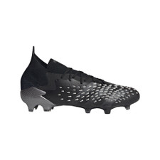 adidas Predator Freak.1 Firm Ground Boots - Black/Grey/White