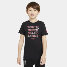 Nike Jr Liverpool FC Shirt - Black