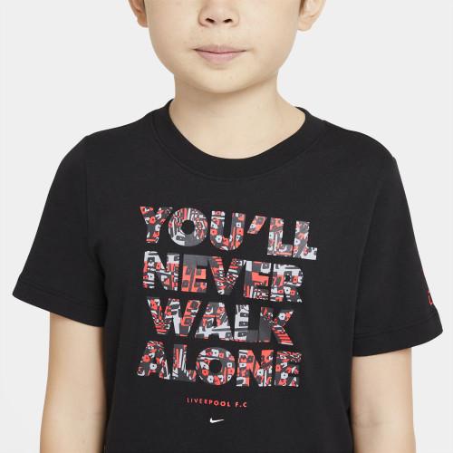 Nike Jr Liverpool FC Shirt - Black