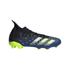 adidas Predator Freak.3 Firm Ground Boots - Black/White/Yellow