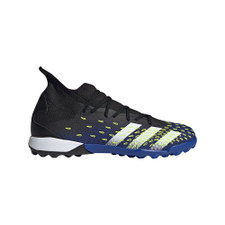 adidas Predator Freak.3 Turf Boots - Black/White/Yellow
