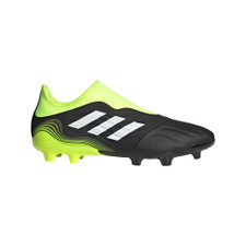 adidas Copa Sense.3 Laceless Firm Ground Boots - Black/White/Yellow