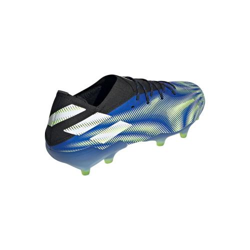 adidas Nemeziz.1 Firm Ground Boots - Royal/White/Yellow