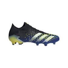 adidas Predator Freak.1 Firm Ground Boots - Black/White/Yellow