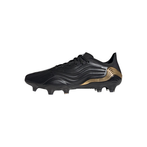 adidas Copa Sense.1 Firm Ground Boots - Black/White/Gold