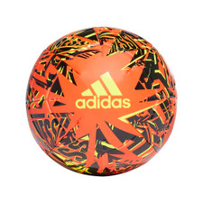 adidas Messi Club Ball - Red/Black/Yellow - 5