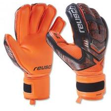 Reusch Reload Prime GK Glove - Black/Shocking Orange