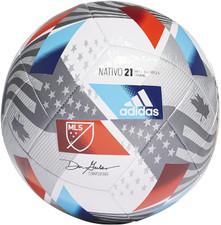 adidas 2021 MLS Training - White/Solar Red/Bold Blue