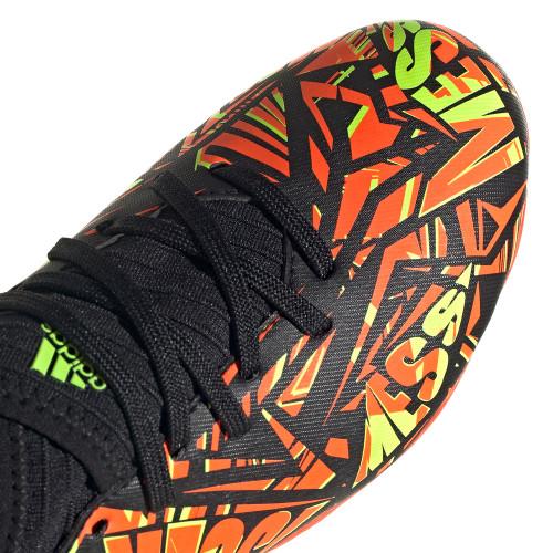 adidas Nemeziz Messi .3 Frim Ground Jr Boot - Solar Red/Yellow/Black