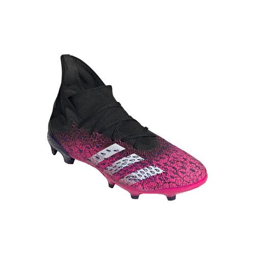 adidas Predator Freak .3 Firm Ground - Core Black/White/Pink