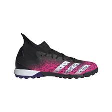 adidas Predator Freak .3 Turf Boots - Core Black/White/Pink