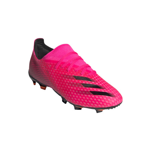 adidas X Ghosted .3 FG - pink/core black/orange