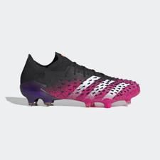 adidas Predator Freak .1 L FG - Core Black/White/Pink