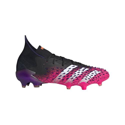 adidas Predator Freak .1 Firm Ground Boots - Core Black/White/Pink